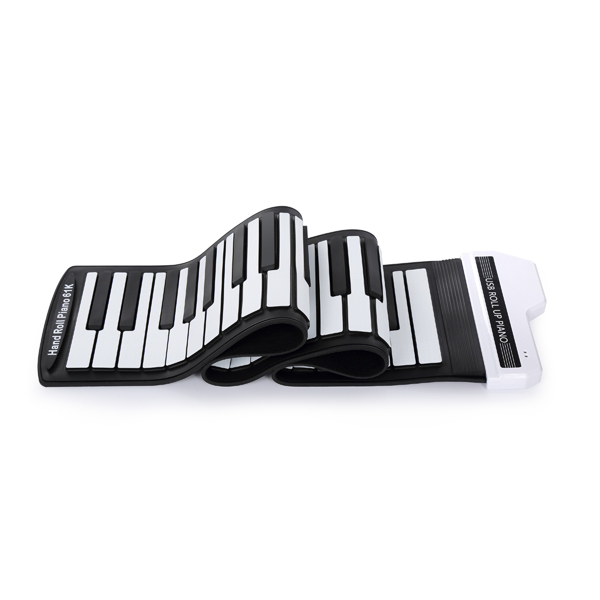 HiFing 61/88 Keys Professional Roll Up Piano With MIDI Keyboard Hand Rolled Electronic Organ midi клавиатура 88 клавиш miditech i2 stage 88