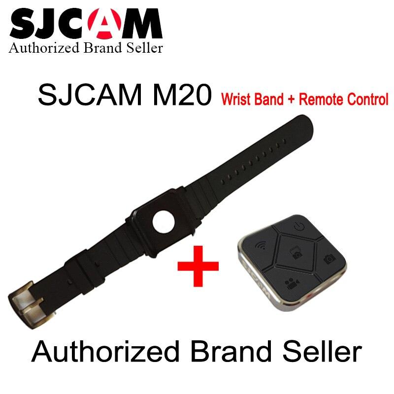 Original SJCAM SJ6 SJ7 accesorios Control remoto reloj WiFi banda para SJ CAM M20 SJ6 leyenda SJ7 deportes estrella cámara de Acción