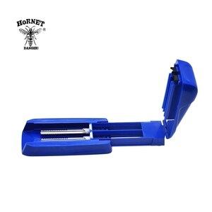 Image 5 - Máquina de rolamento manual do injetor 8mm do rolamento do tubo dobro do cigarro do cigarro plástico de hornet para cigarros de rolamento