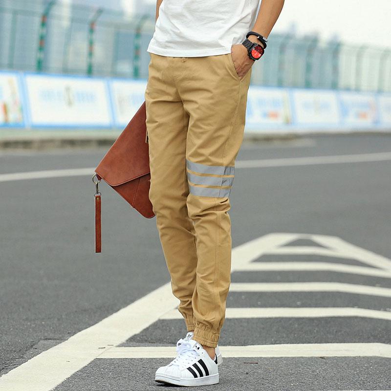 khaki joggers outfit