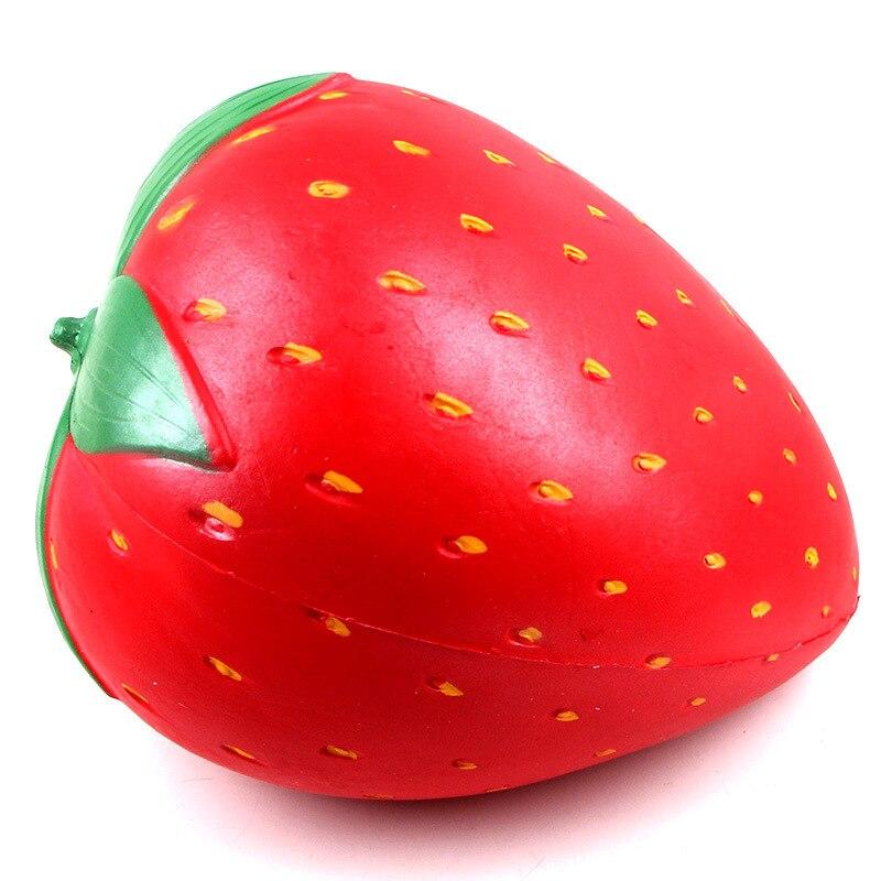 2018 nouveau Super gros charme spongieux fraise lente augmentation jouet Gadgets de bureau jouets intéressants cadeaux anti-stress livraison directe