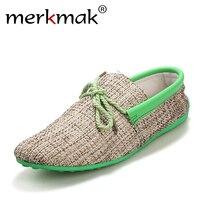 Dropshipping 남성 신발 여름 통기성 패션 직물 캐주얼 신발