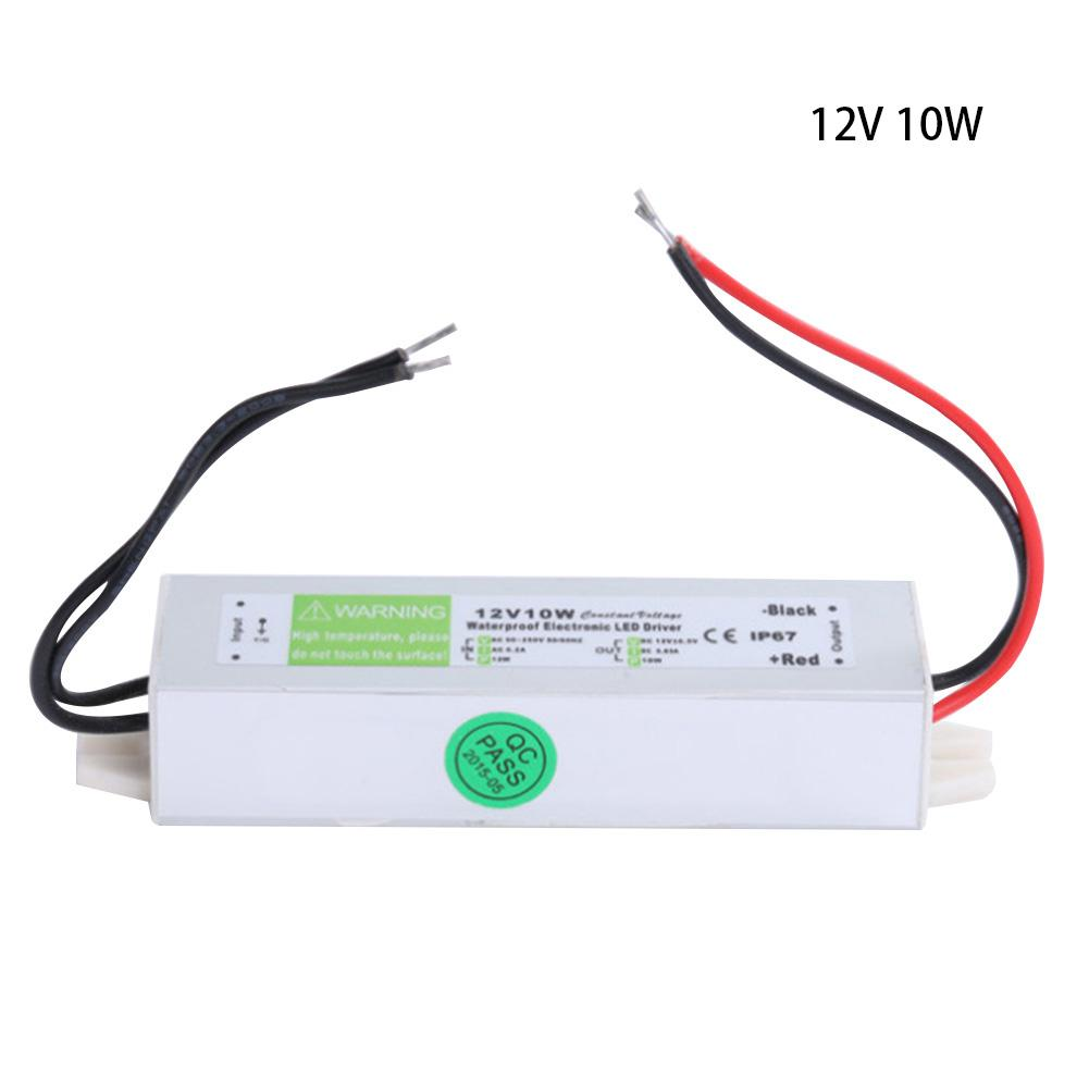 12V 10W 30W 60W Power Supply Adapter Portable Outdoor Waterproof LED Driver Lighting Transformer in Portable Lighting Accessories from Lights Lighting
