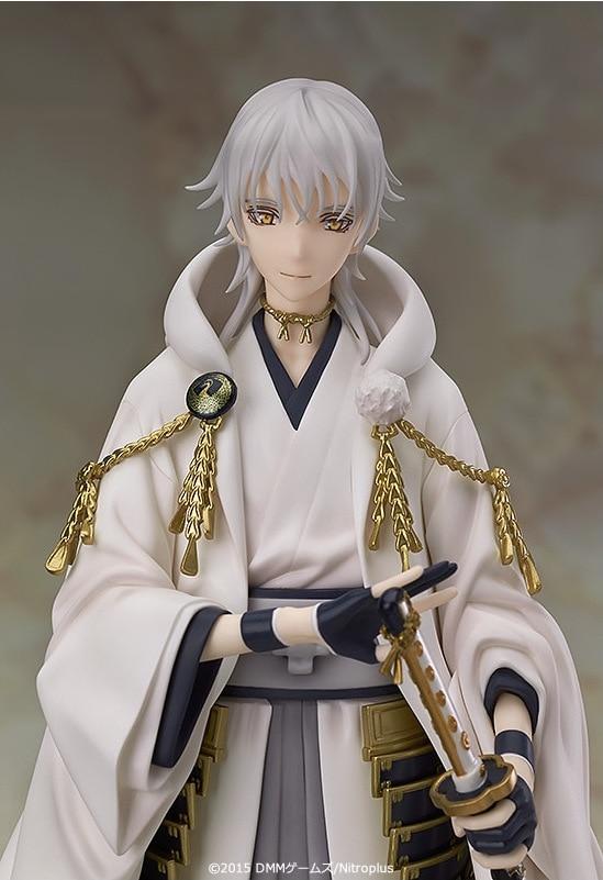 ФОТО 1pcs Game character Touken Ranbu Online Tsurumaru Kuninaga action pvc figure toy tall 23cm in box hot sell.
