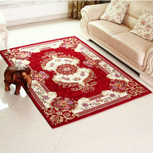 Hot Sale 2017 New Europe Floral Pattern Mats Bath Room Kitchen Mats  Waterproof Carpets For Living Part 53