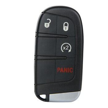 Remote Uncut Tasto del Trasmettitore di Avvio di Spinta Fobik Per Dodge Journey 2011 2012 2013 2014 2015 Per Dodge M3N40821302