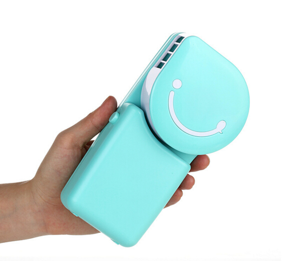 Portable Mini <font><b>Air</b></font> <font><b>Condition</b></font> <font><b>USB</b></font> <font><b>Rechargeable</b></font> <font><b>Water</b></font> <font><b>Cooling</b></font> <font><b>Fan</b></font> For Home Office Outdoor Smile Face Handheld Micro Cooler <font><b>Fan</b></font>