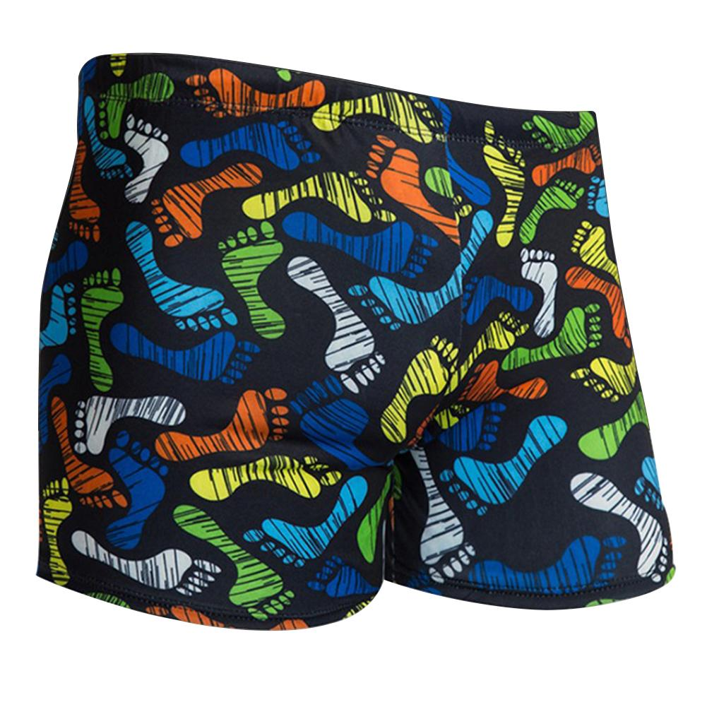 191bb087ff6e2 Men Large Size Swimming Trunks With Flower Prints And Milk Fiber Swimwear  Swim Suits Shorts Swim Trunks Men Swimsuit Surf-in Body Suits from Sports  ...