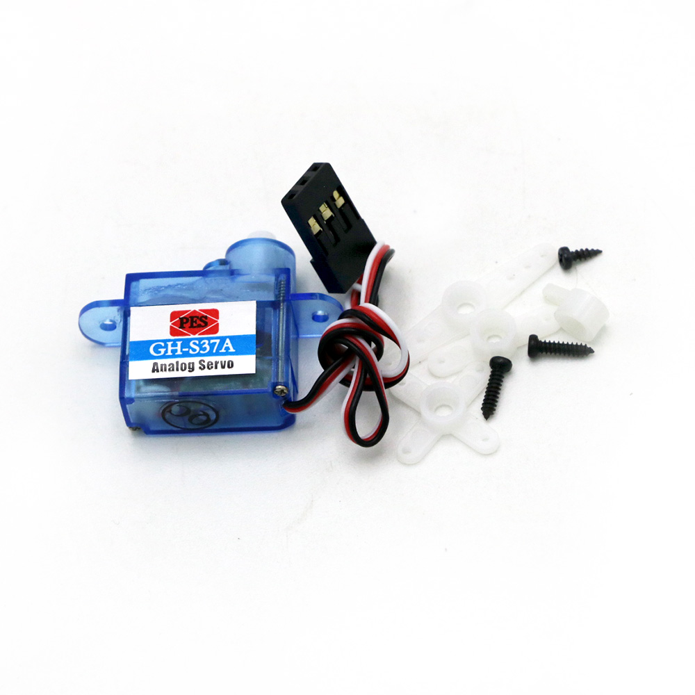 Image 5 - 10pcs/lot Mini 3.7g Micro Servo RC plane Helicopter Boat Car Trex 250+Free shipping-in Parts & Accessories from Toys & Hobbies