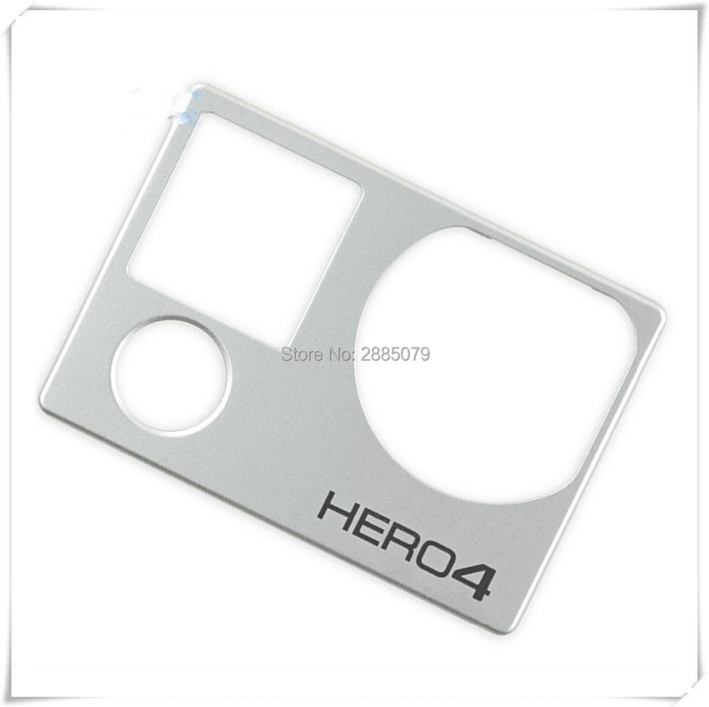 100% New Original Front Board + Power Button For Gopro Hero 4 Front Panel Cover Faceplate With Mode Button Repair Front Door