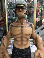 Popeye матроска модель игрушки 12 дюймов натуральная Popeye каучуковые фигурки Модель Бесплатная доставка