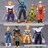 NEW Hot 8pcs Set 12 14cm Dragon Ball Z Super Saiyan Trunks Vegeta Son Goku Uub