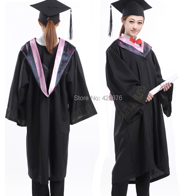 Special clothes bachelor of clothes cloth trencher cap school wear ...