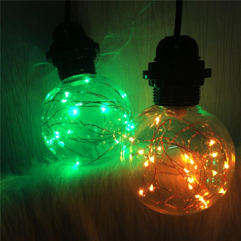 ЕС США Plug Одноголовочные Веревка Подвесные Светильники Лампа Простой Стиль Ресторан Бар Веревка