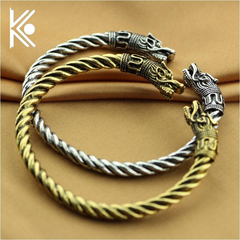 Livraison epacket 6 style vikings bracelets pour hommes viking dans bijoux Les vikings Loup bracelet bracelet Loup bijoux