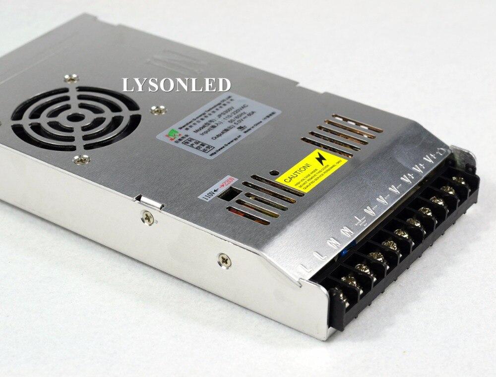 G-energy 2pcs/lot JPS300V 110/220VAC 5V60A 300W LED Display Switching Power Supply ,300W PSU LED Display Switching Power Supply