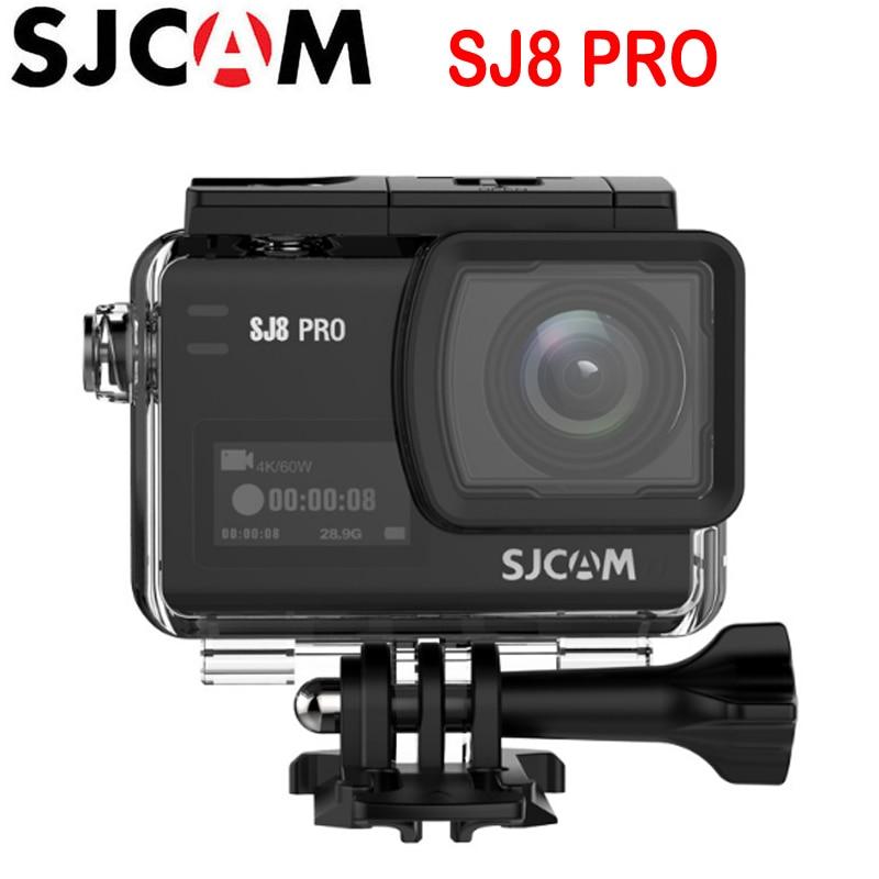 SJCAM SJ8 Pro SJ8 serie 4K 60FPS WiFi remoto casco Cámara de Acción Ambarella Chip 4K 60FPS Ultra HD cámara DV de deportes extremos-in Videocámara de acción y deportes from Productos electrónicos    1