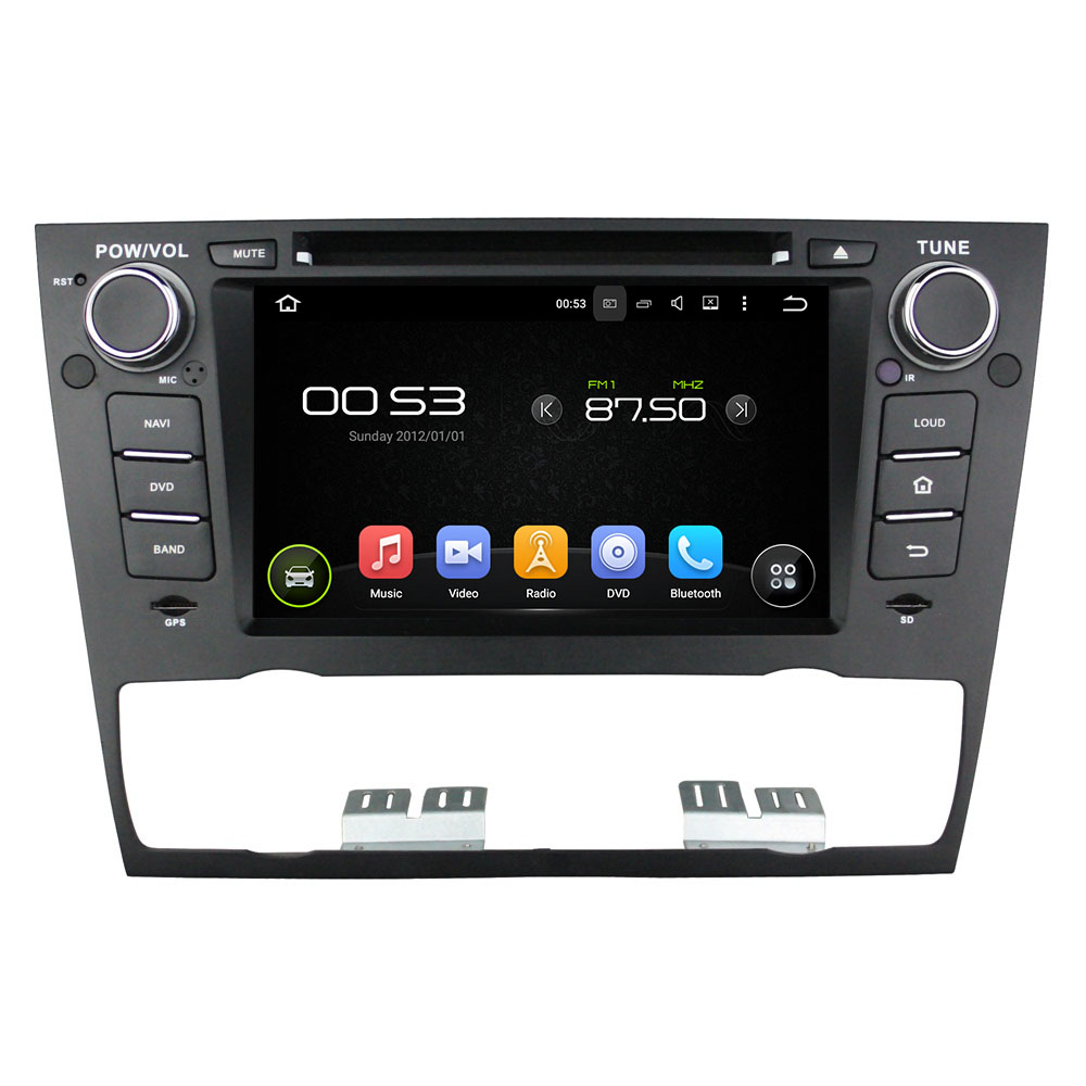 7″ 1 Din Android 6.0 Octa-core Car Multimedia Player For BMW E90 Saloon 2005-2012 E91 Car Video Audio Stereo Free MAP CANBUS