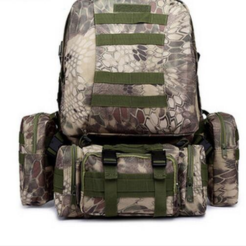 Large Capacity Travel Backpack Unisex Military Combination Backpack Male Rucksack Oxford Travel Waterproof Backpack