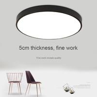 Newest Round LED Ceiling Light Modern Lamp Bedroom Kitchen Surface Mount Panel Light