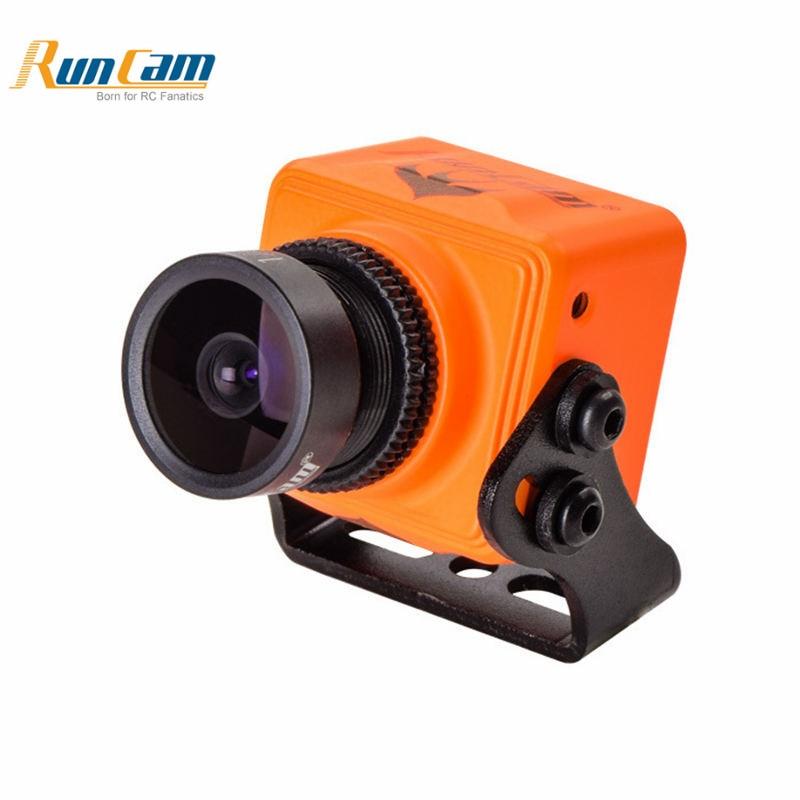 RunCam Swift Mini 2 600TVL 2.1mm/2.3mm 1/3 CCD One Touch Mise En Scène FPV Caméra pour RC Drone Quadcopter Orange