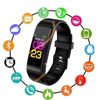 Smart Watch Anak Jam Tangan untuk Anak Perempuan Anak Laki-laki Hidup Tahan Air Digital LED Olahraga Anak Pergelangan Tangan Clock Smartwatch