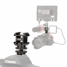 Ulanzi PT 3S potrójny adapter do mocowania gorącej stopki Cold Shoe Extend Monitor Mic Fill Light do Nikon Canon Sony akcesoria do lustrzanek cyfrowych