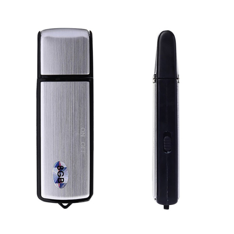 U-disk Digital Mini Audio Sound Recorder 8GB Professional Voice Record Dictaphone USB Recorder Recording Pen