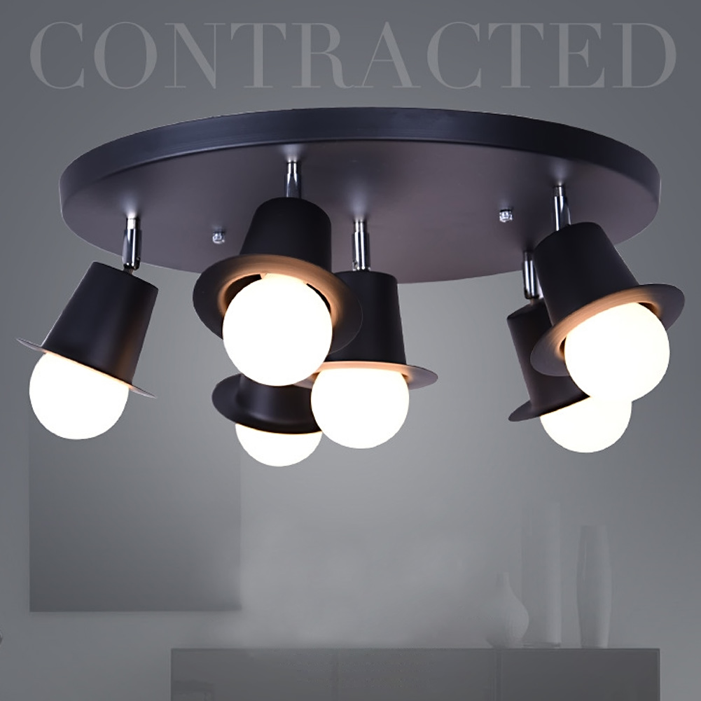 4 heads 6 heads Led Celling Light Lamps Ceiling Dome Lamp nd Lanterns of Creative and