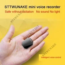 Sttwunake profissional digital hd mini gravador de voz escondido gravador de áudio ditafone denoise alta fidelidade lossless mp3