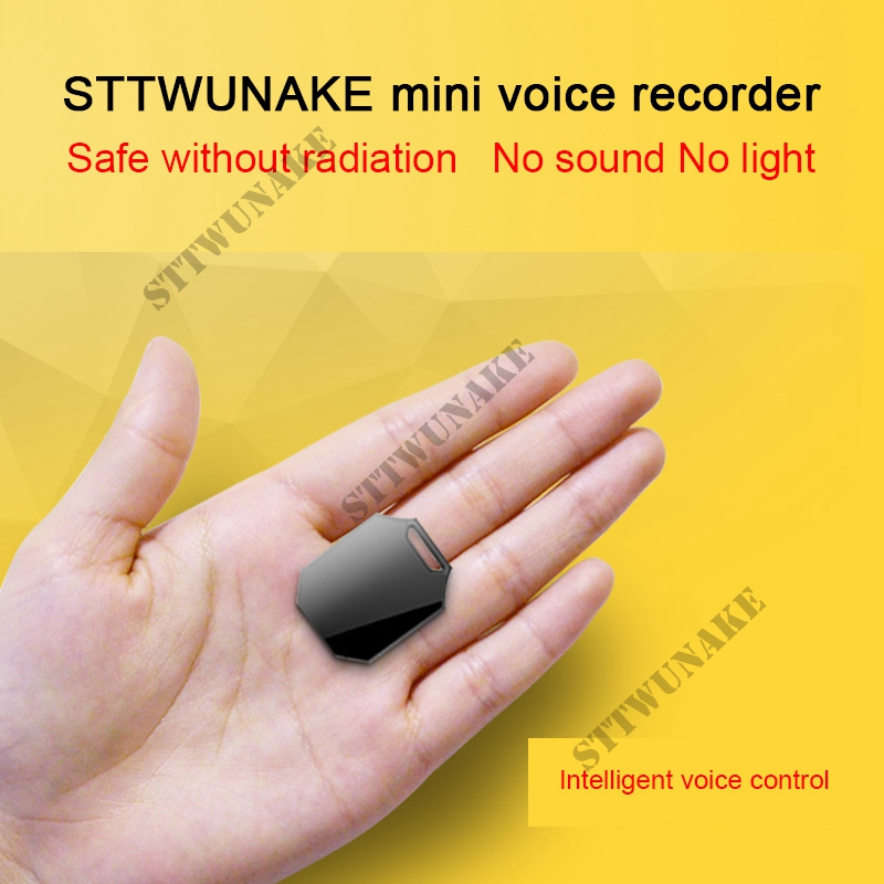 STTWUNAKE professional font b Digital b font HD Mini hidden Voice Recorder Audio Recorder Dictaphone denoise