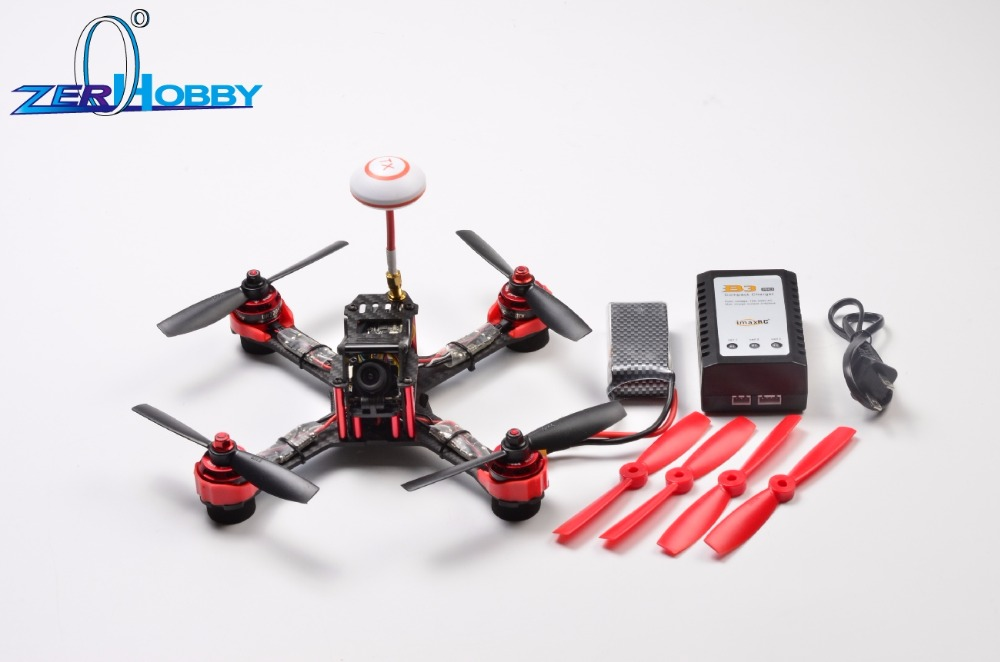 Falcon210 GX210  FPV Racing Drone RC Quadcopter ARF With 700TV HD Camera With CC3D Naze32 F3 Without Remote Control 4pcs lot naze32 cc3d sp racing f3 led strip ws2812b rgb for qav250 rc drone can control max 32 leds with one pins with alarm