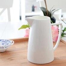 Fine Bone China bone china vase krug Einrichtungs topf mit kaltem wasser