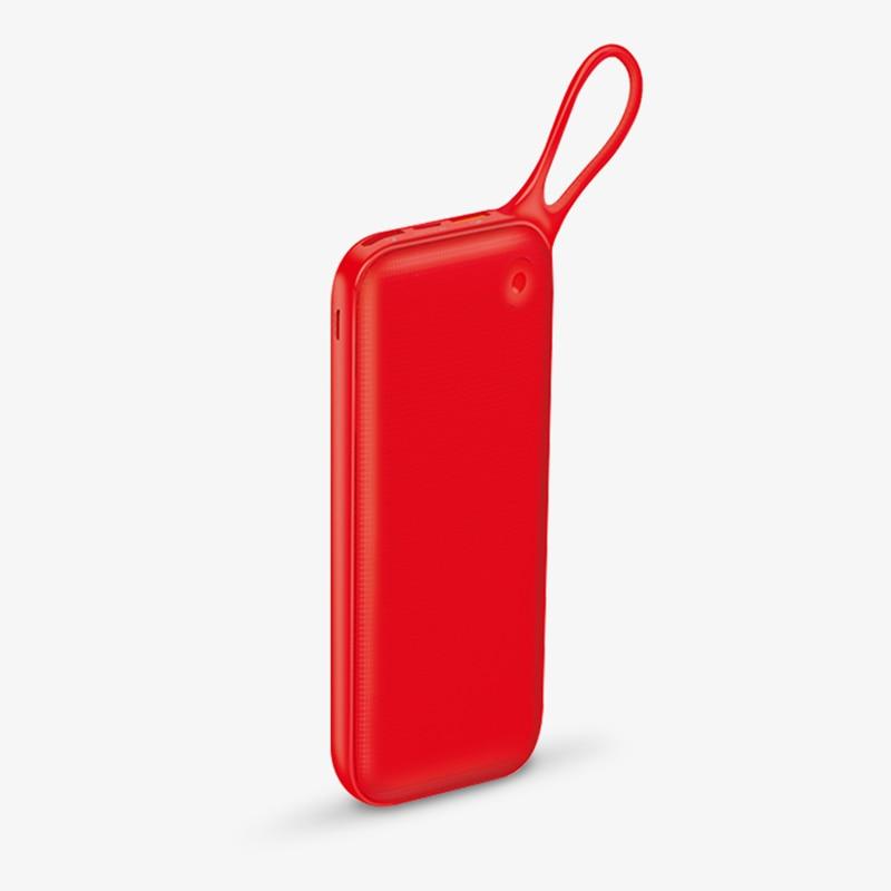 Baseus 20000 mAh batterie externe pour iPhone Xs Max XR 8 7 Samsung S9 USB PD charge rapide + double QC3.0 banque d'alimentation de chargeur rapide MacBook