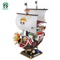 One Piece Action Toy Figures Thousand Sunny Ship Assembly Model PVC Anime Action Figures Toy Doll Model Collection Toys Hobbies
