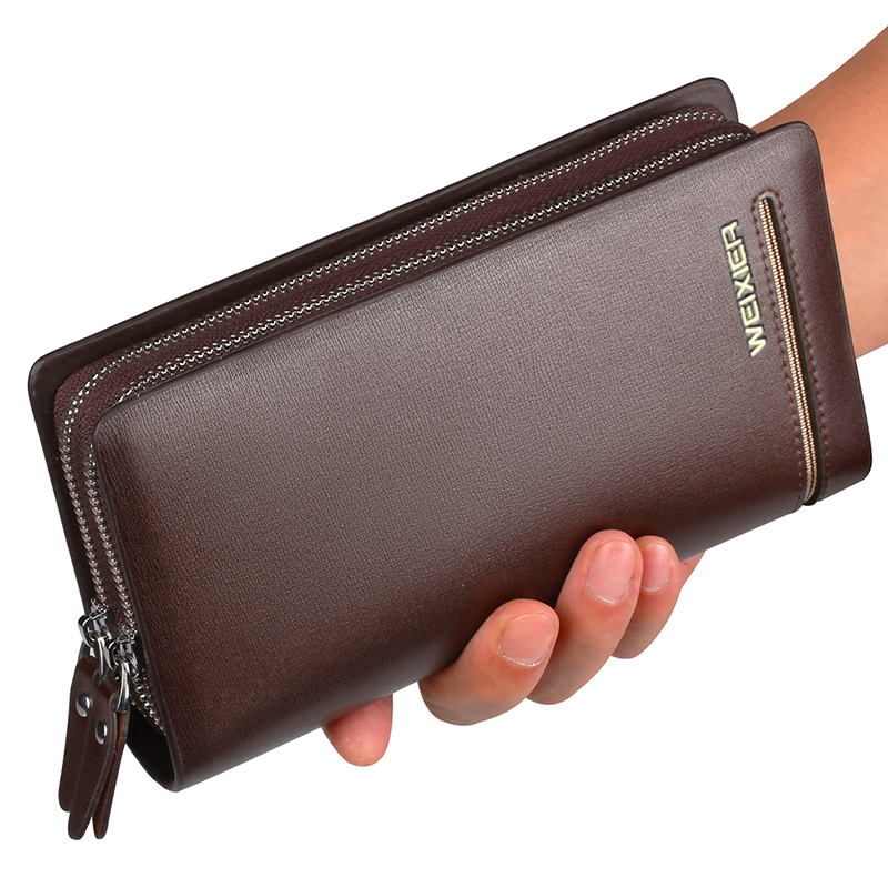 New PU Men wallets with coin pocket long zipper coin purse for men clutch business Male Wallet Double zipper Large Wallet Purse slimming narrow feet zipper fly special cross print purfle pocket men s casual long pants