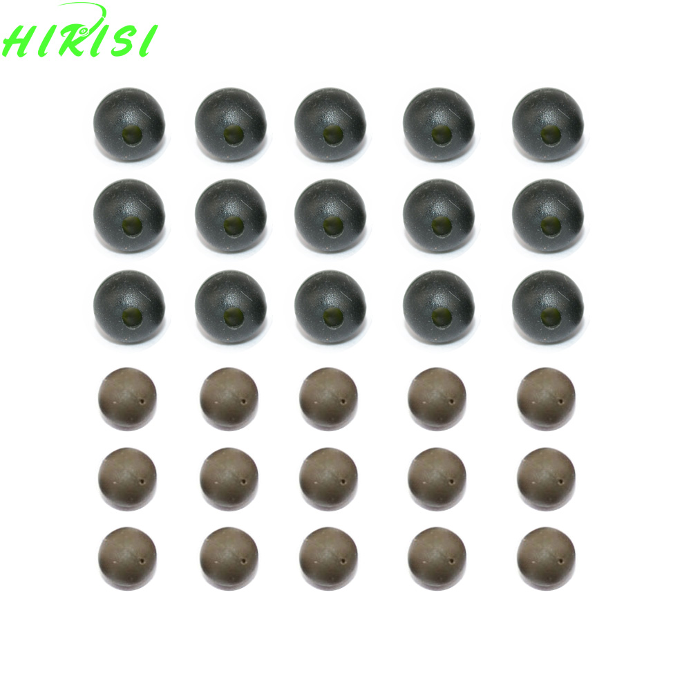 Carp Fishing Rubber Shock Beads Green Soft Rig Beads Terminal Tackle 5mm 7mm maximumcatch soft tungsten putty 3 pieces tungaten weight carp terminal tackle tungsten sinker for carp fishing