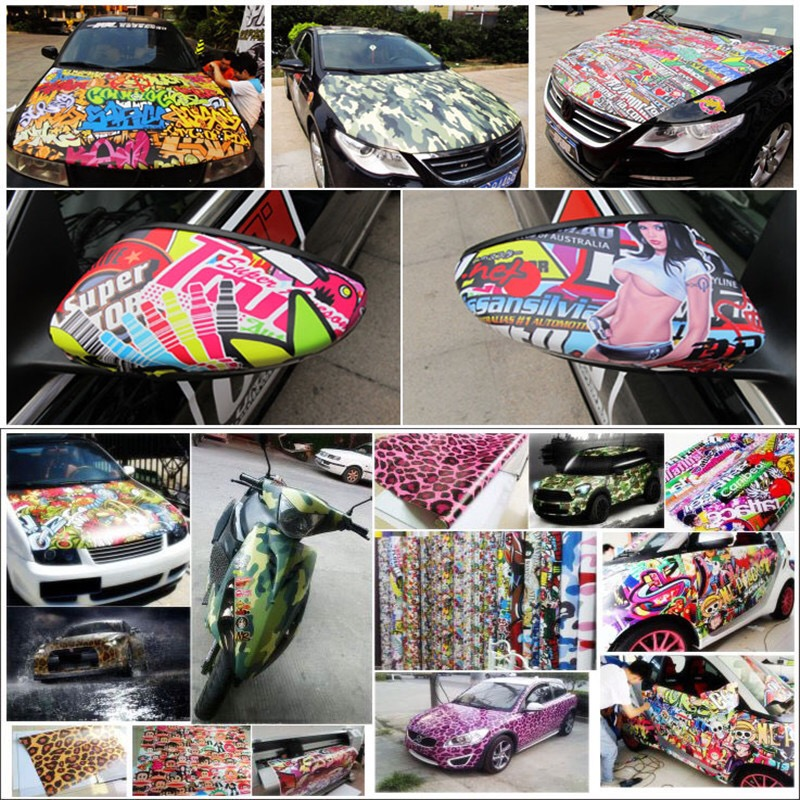 100 Mixed Series Graffiti Stickers Sexy beauty Interesting Skateboards Refrigerators Car Stickers DIY Personality Creativity in Stickers from Home Garden