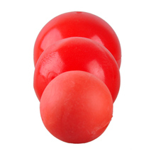 L Size Red Pet Toy Solid Rubber Elastic Dog Ball Toys Bite Resistant Durable Animal Pets Training Supplies For Big Dogs