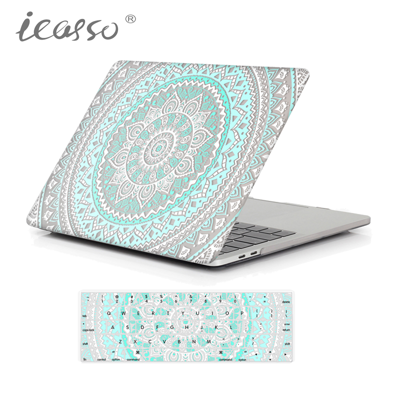 best service 71604 757c2 2017 icasso Mandala Matte Case For Apple Macbook Air 13 Case Air 11 ...