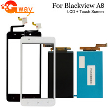 Tools Lcd-Display Touch-Screen Mobile-Phone-Replacement Blackview for 5- Glass A8
