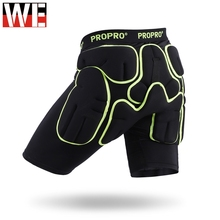Motorcycles Off-road Hip protector Shorts Skiing Skating Protective Padded Sports Safety Supporter Gear