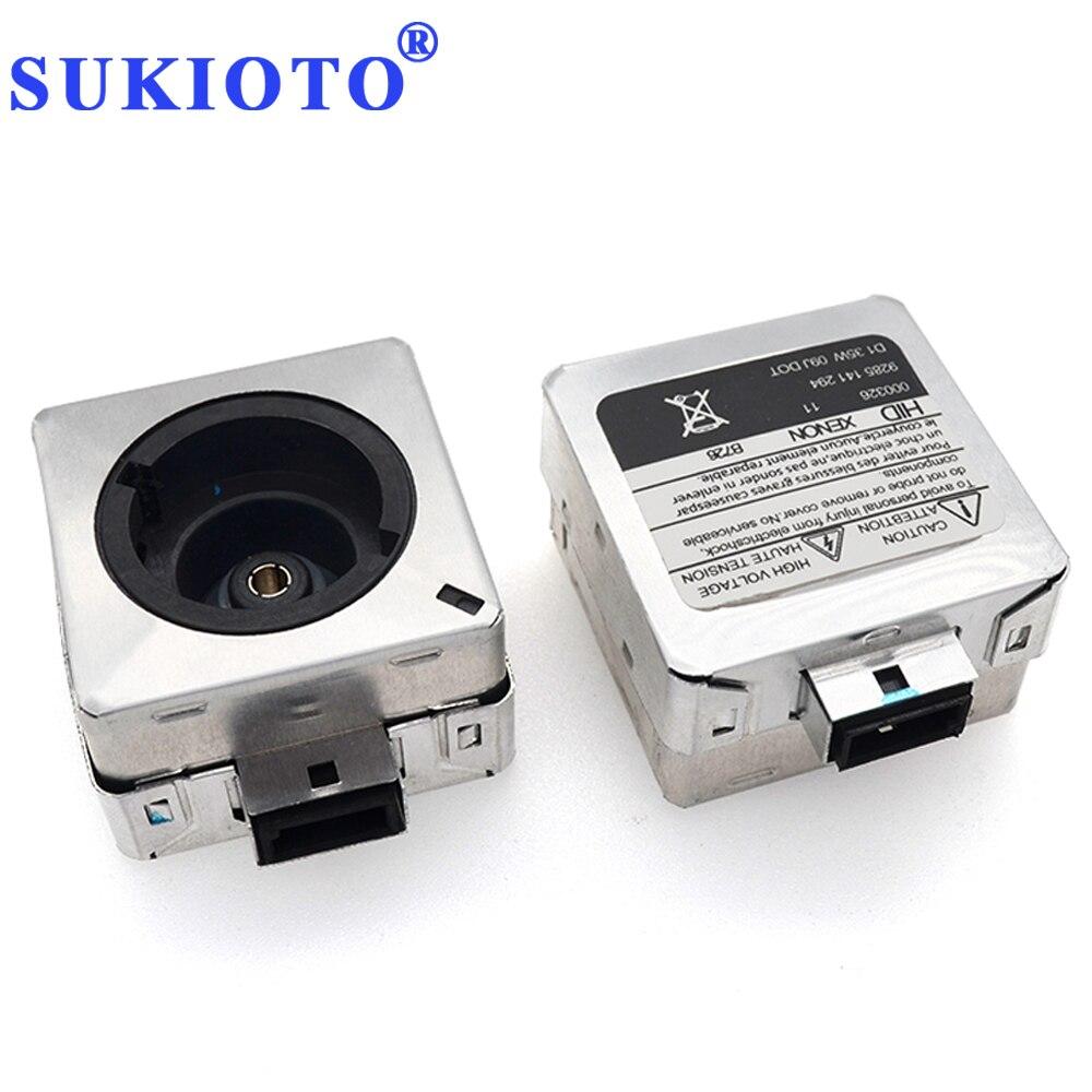 SUKIOTO Xenon D1s To D2s Base Adapter Car Error Free D1r D2r D2c Xenon D2s Adapter D1C Hid Bulbs Adapter Hid Bulb Holder Base
