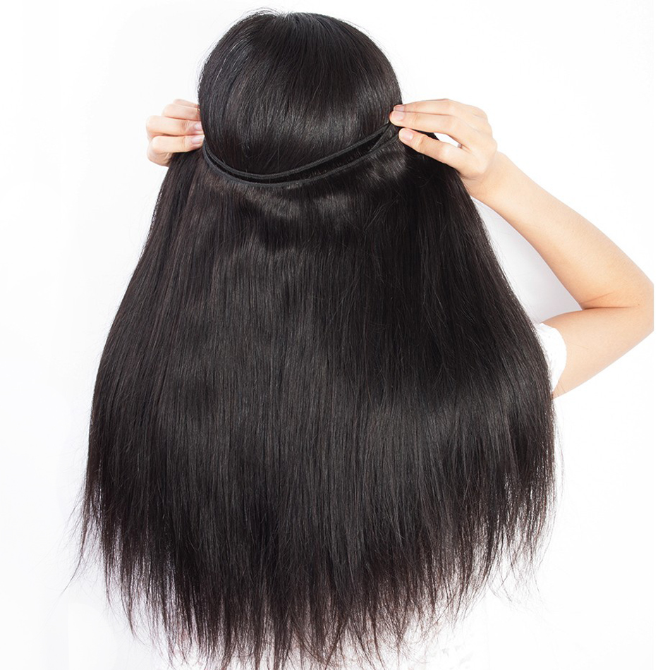 Peruvian Straight Hair Bundle with closure 3 bundle human hair weave Virgo Hair lace frontal closure Peruvian Straight Hair Bundle with closure 3 bundle human hair weave Virgo Hair lace frontal closure with bundles 4 pcs remy