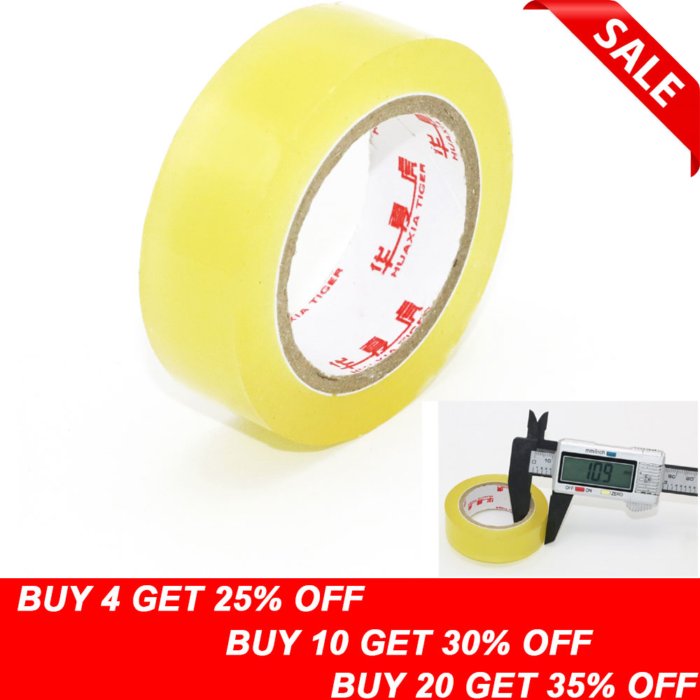 1pcs Pvc Waterproof Transparent Tape Insulation Adhesive Tape High-temperature Tape For Rc Toys
