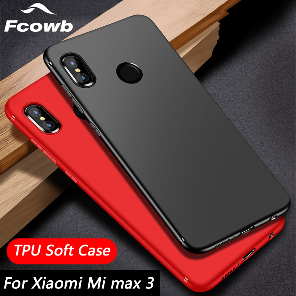 Soft case For Xiaomi Mi Max 3 Case TPU Silicon Fitted Matte Bumper Shockproof Protector Back Cover Case For Xiaomi Mi Max 3 Case-in Fitted Cases from Cellphones & Telecommunications on Aliexpress.com | Alibaba Group