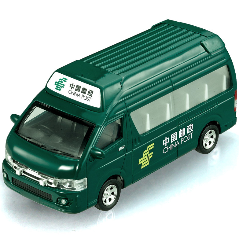 Iron car mail car school bus microbiotic acoustooptical WARRIOR alloy model car toy