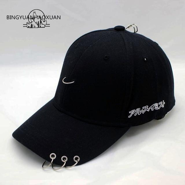 BINGYUANHAOXUAN CL With Right Zhilong GD Pin Hoop Jay Park Snapback  Baseball Cap Hip Hop Hat Peaked Cap Basketball Cap b0fe8dec714