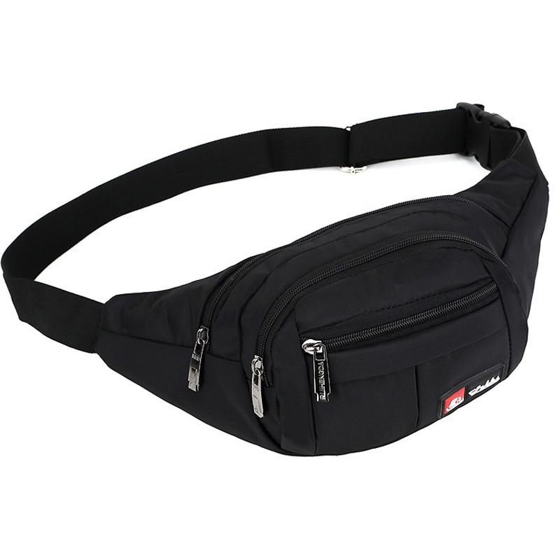 Waist Packs Women Men Fanny Pack Belt Bag Phone Pouch Bags Travel Waist Pack Small Waist Bag Nylon Pouch High Qualty Hot Sales u convex pouch stripe elastic waist boxers brief