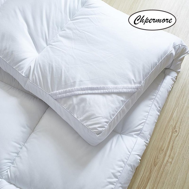 Chpermore  five star hotel Thicken Feather velvet Mattress Foldable Tatami Single double Mattresses Cotton Cover King Queen Size 1